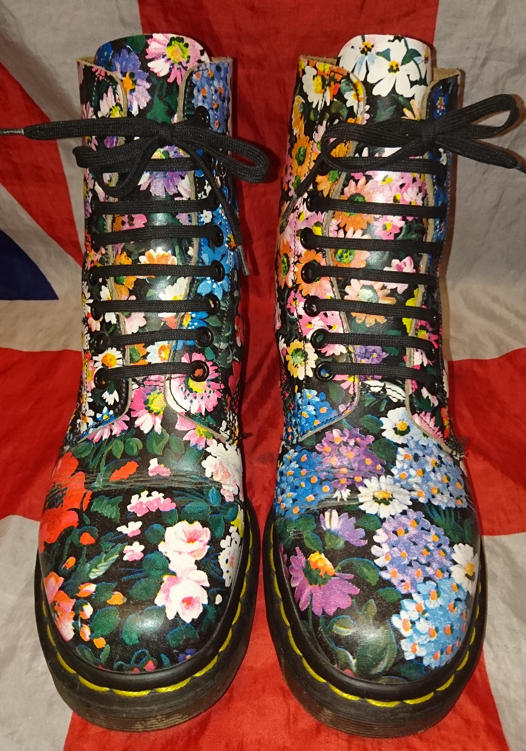 You will Vintage floral dr martens would