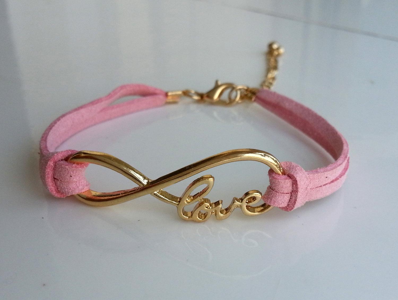 Charm Bracelet Infinity Love Bracelet Boyfriend Jewelry
