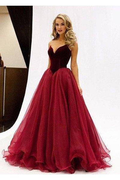 Burgundy Prom Dressnew Arrival Prom Dressmodern Prom Dress