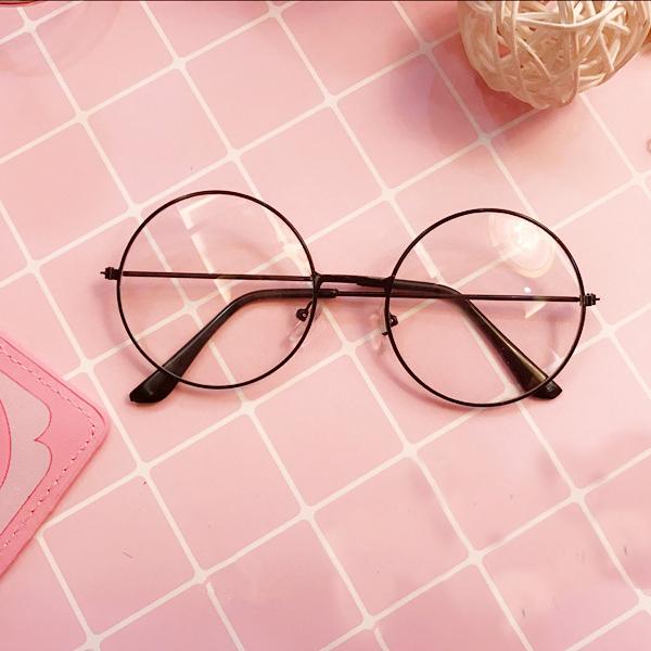 Round Frame Glasses Japan : Japanese Girly Kawaii Glasses Harajuku Round Frame MG331 ...