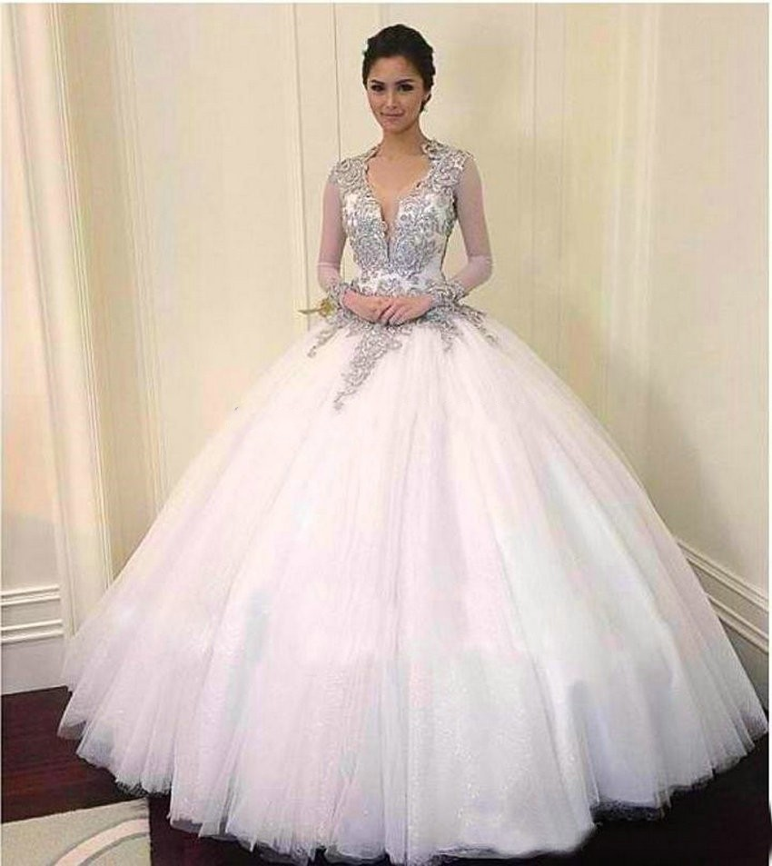 Tulle Ball Gown Evening Dress,Long Evening Dresses,Ball Gown Prom ...