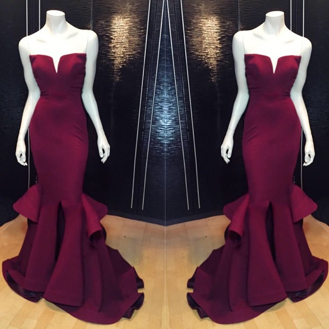 AM172 Sweetheart Mermaid Long Prom Gowns,Charming Lady Dresses ...
