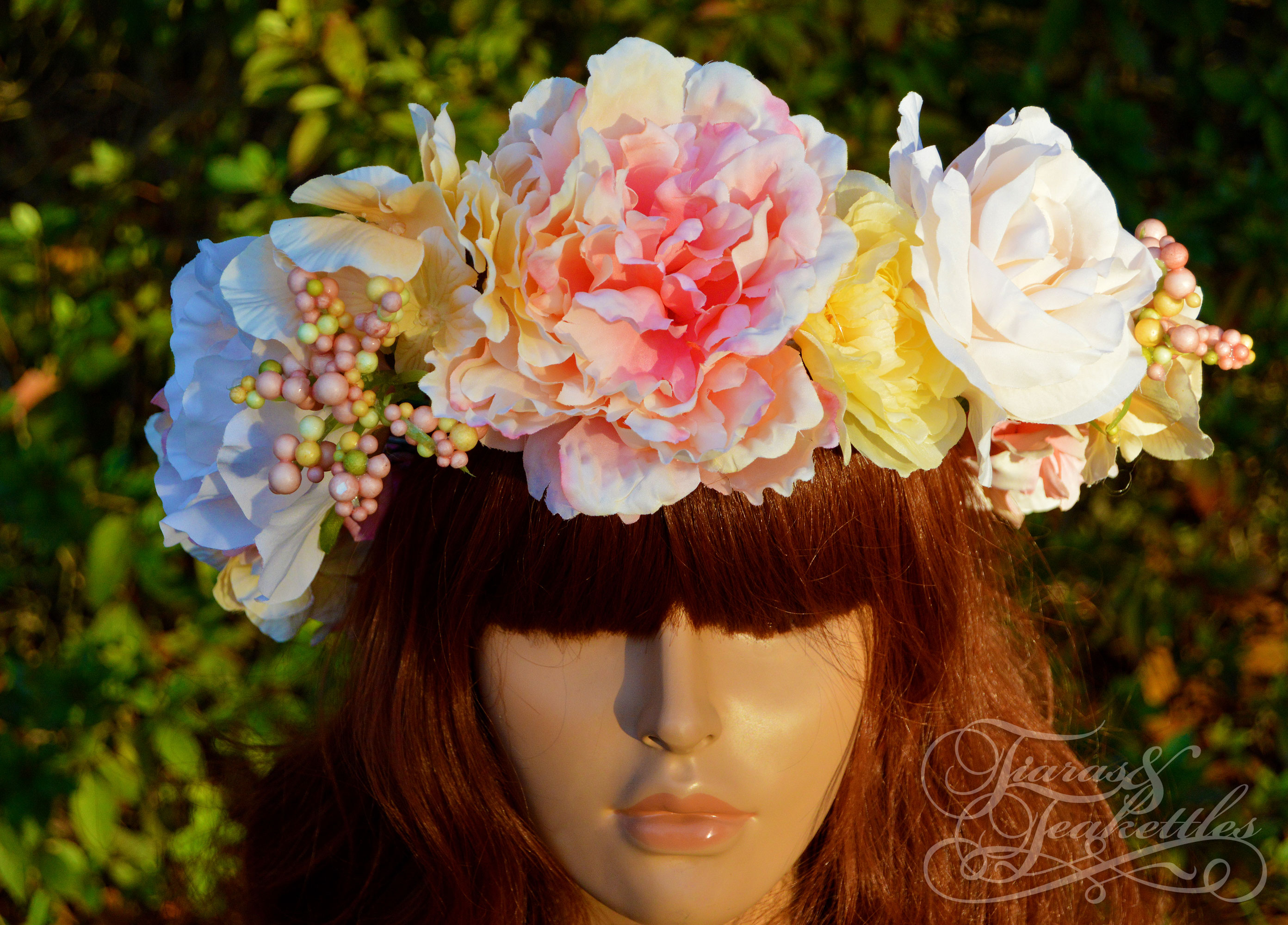 Five oclock in the garden tiaras n teakettles online store five oclock in the garden izmirmasajfo