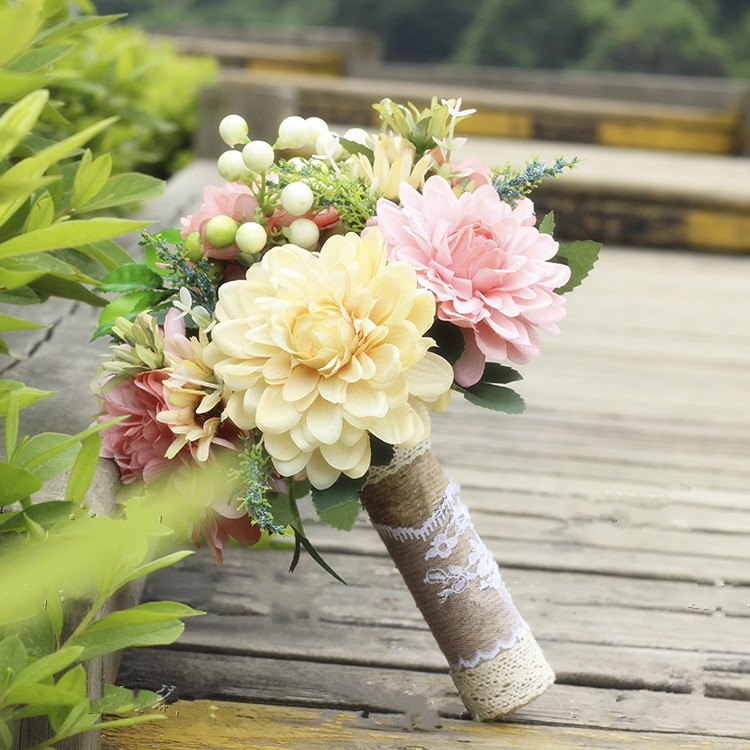 Boho Wedding Bouquetrustic Wedding Bouquetscountry Wedding Bouquet