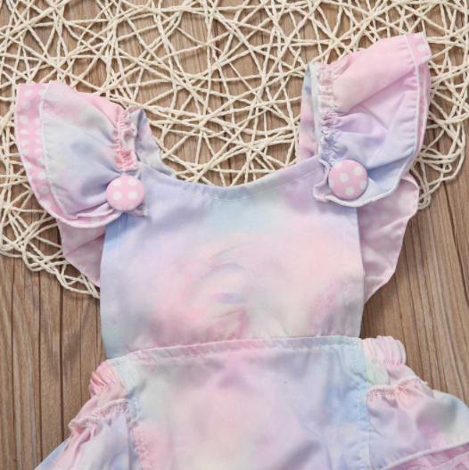 5812f42267e ... Baby Toddler Unicorn Romper - Thumbnail 4