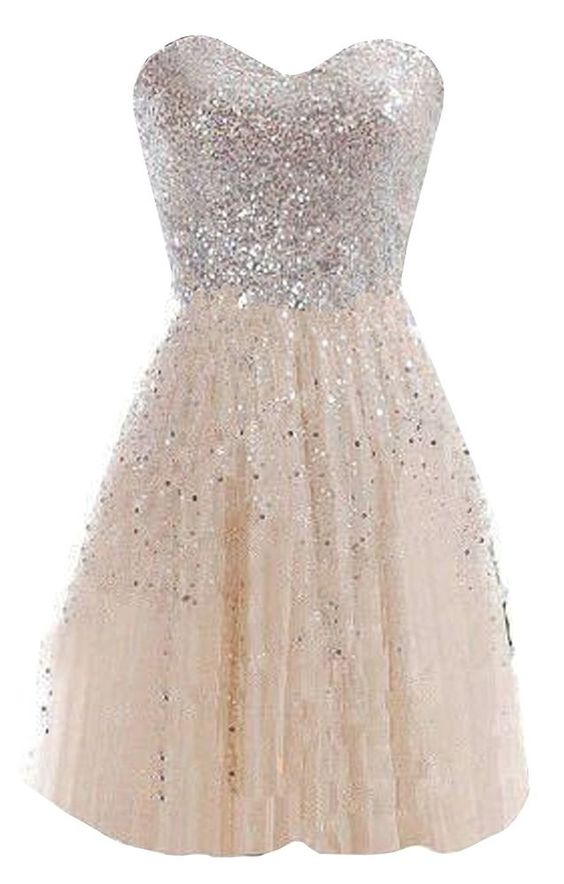 Champagne Cheap Dresses