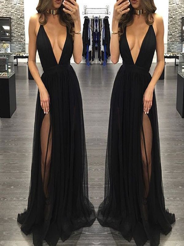 long black dress for prom