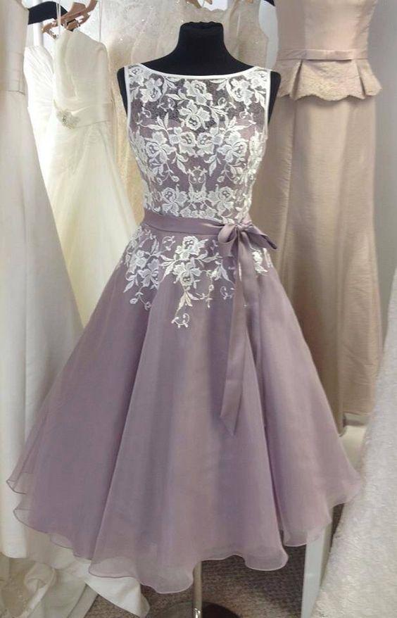 Short Prom Dresscap Sleeve Prom Dressesappliques Prom421 Morden