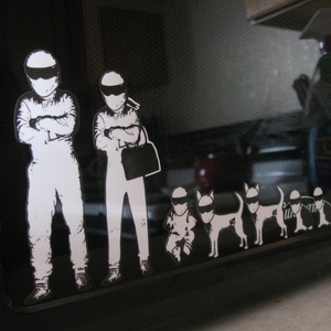 STIG Family Stickers