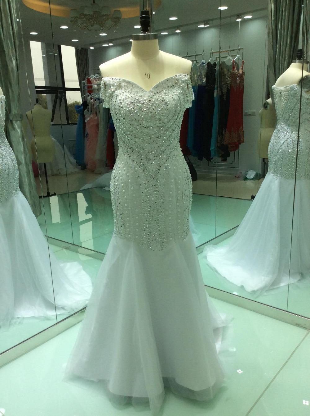 Modest Wedding Dress,Luxury Tulle Wedding Dresses,Long Wedding Gown ...