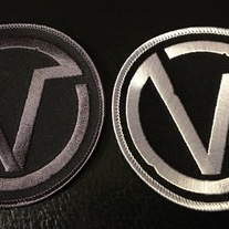 Circle V Embroidered Patch medium photo
