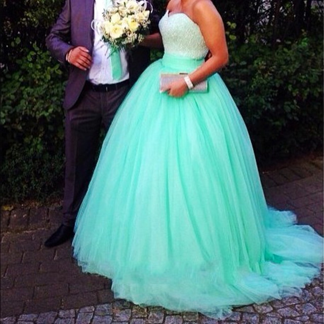 Huge Ball Gown Prom Dresses