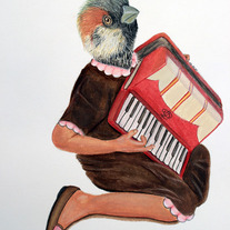 The Lonesome Accordionist