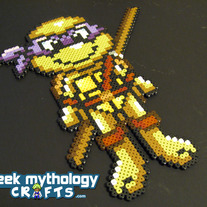 Donatello - Teenage Mutant Ninja Turtles Chibishou Bead Sprite