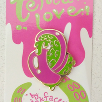 Tentacle!Love Enamel Pin medium photo