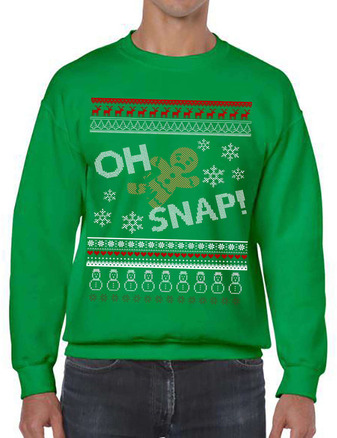 Gingerbread, Oh Snap, Ugly Christmas Sweater Party, Oh Snap Ugly ...