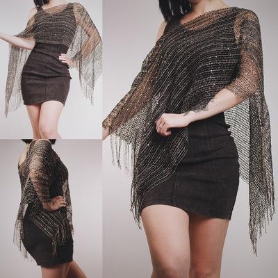 Claimed  lady havisham - vintage 80s swamp witch shawl 11bd7358a