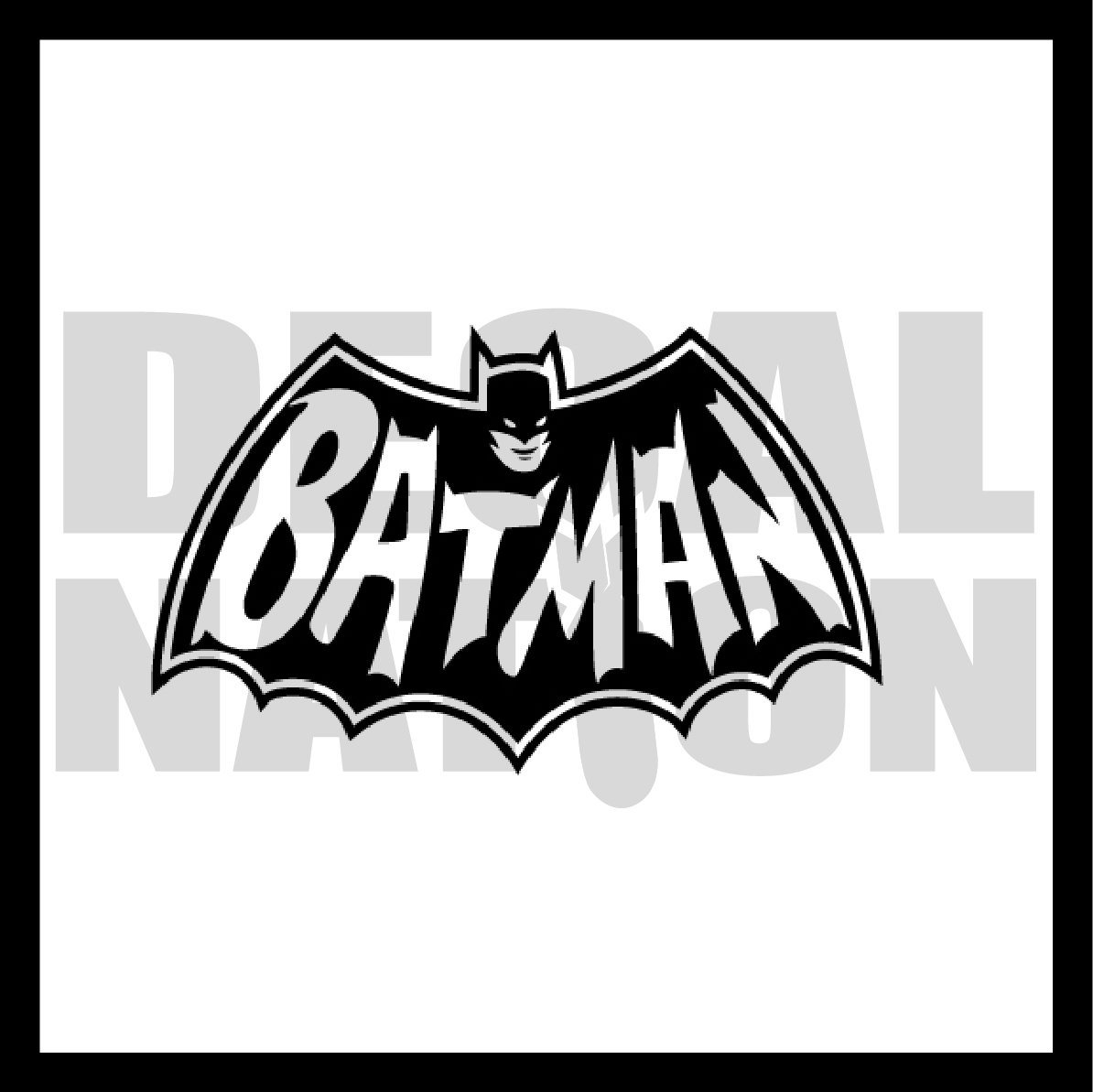 Batman Symbol V2 Decal Nation Online Store Powered By Storenvy