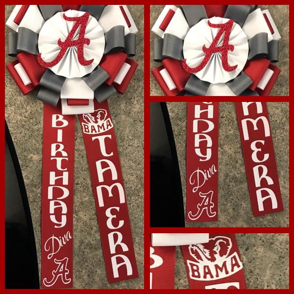 Alabama Roll tide birthday Corsage Accessoriesbychaise Online
