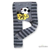 I LIKE MILK Panda Unisex Legging Pant Pants Leggings for Boys Girls Babies Kids