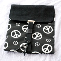 Ipad Case Sleeve - Peace - Mother's Day Special - Was $42 Now $20