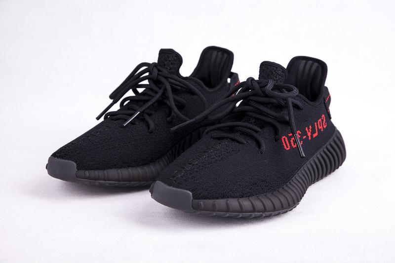 204a3be32 Fashion Adidas Yeezy Boost 350 V2 black sports shoes - Thumbnail 1 ...
