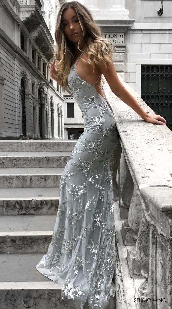 Long Formal Dressesbackless Prom Dresses 2018 Party Dresses
