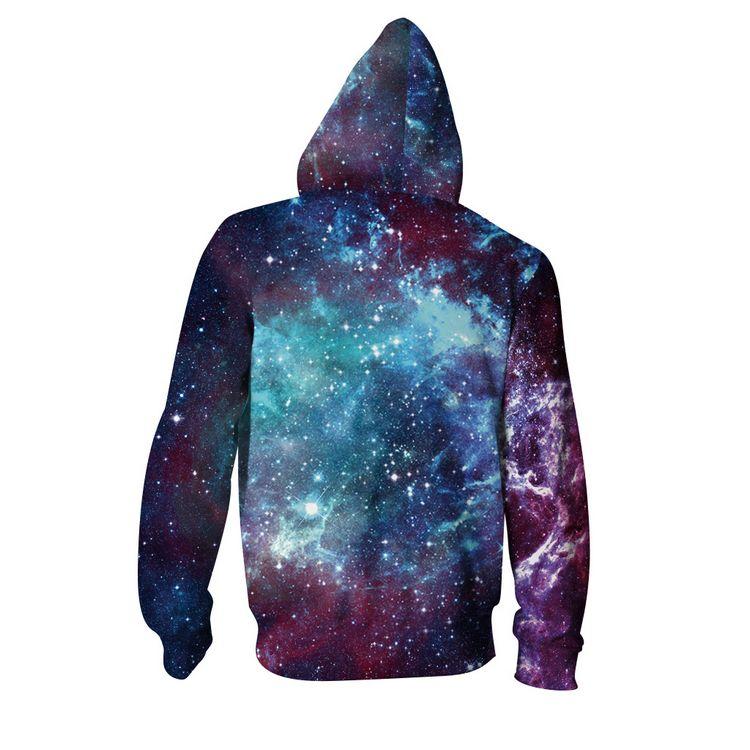 966e0b5aec083 ... Purple Blue Galaxy Swirl 3D Printed Zip Up Hoodie - Thumbnail 2 ...
