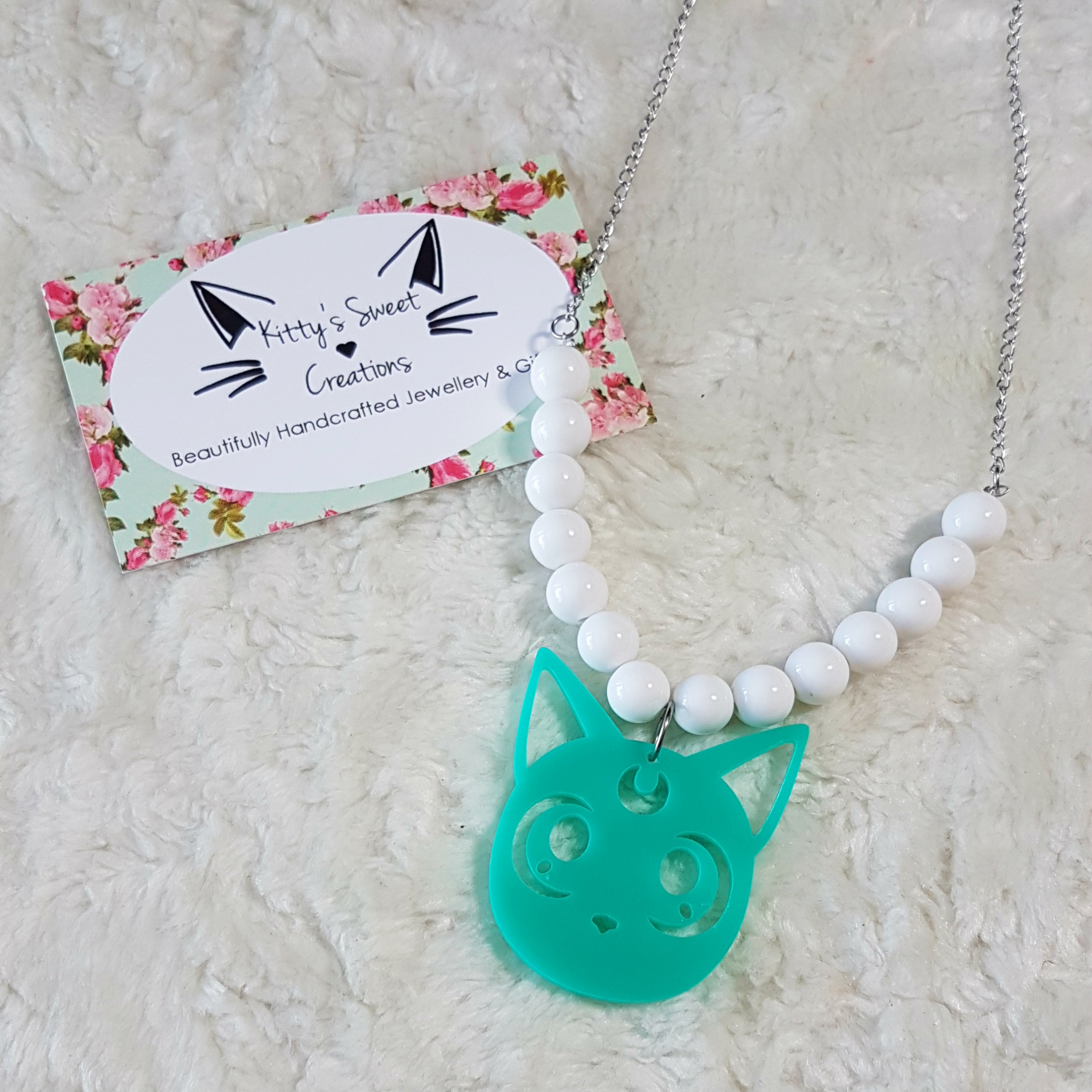 jewelry product aflc cat australia les jewellery necklace nereides little white