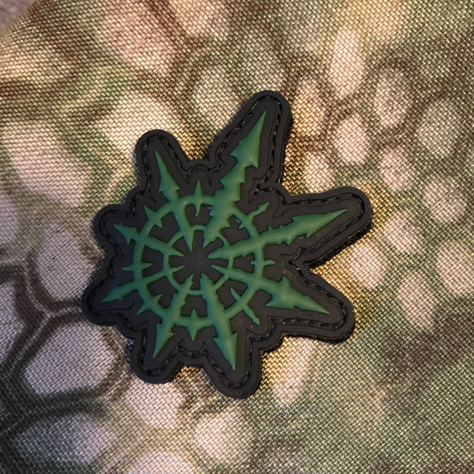 Chaos Symbol Pvc Patch Tacticool Imaging Online Store Powered By
