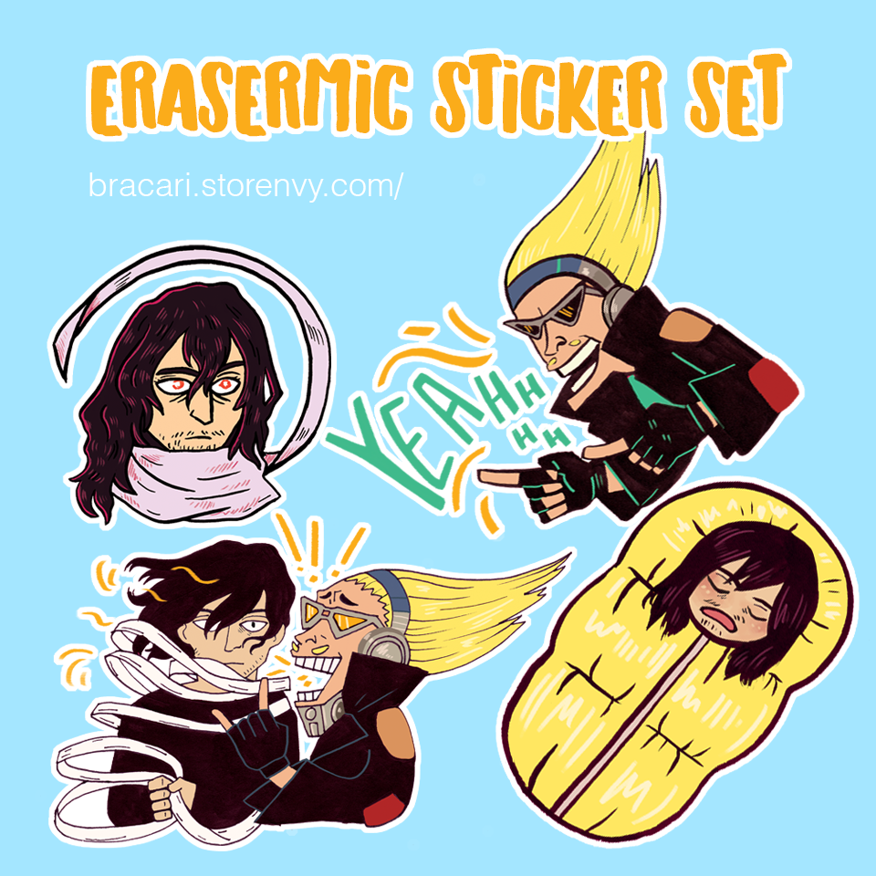 Erasermic Sticker Set · bracari · Online Store Powered by ...