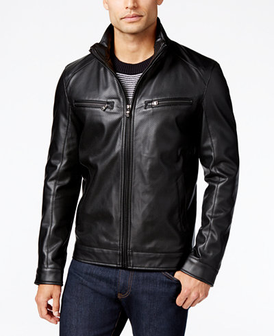 Men Black biker leather Jacket, Biker Leather Jacket Men · Rangoli ...