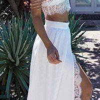 Long White Prom Dress 2018