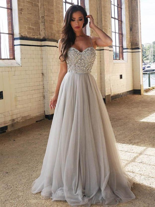 A Line Prom Dresses Cheap