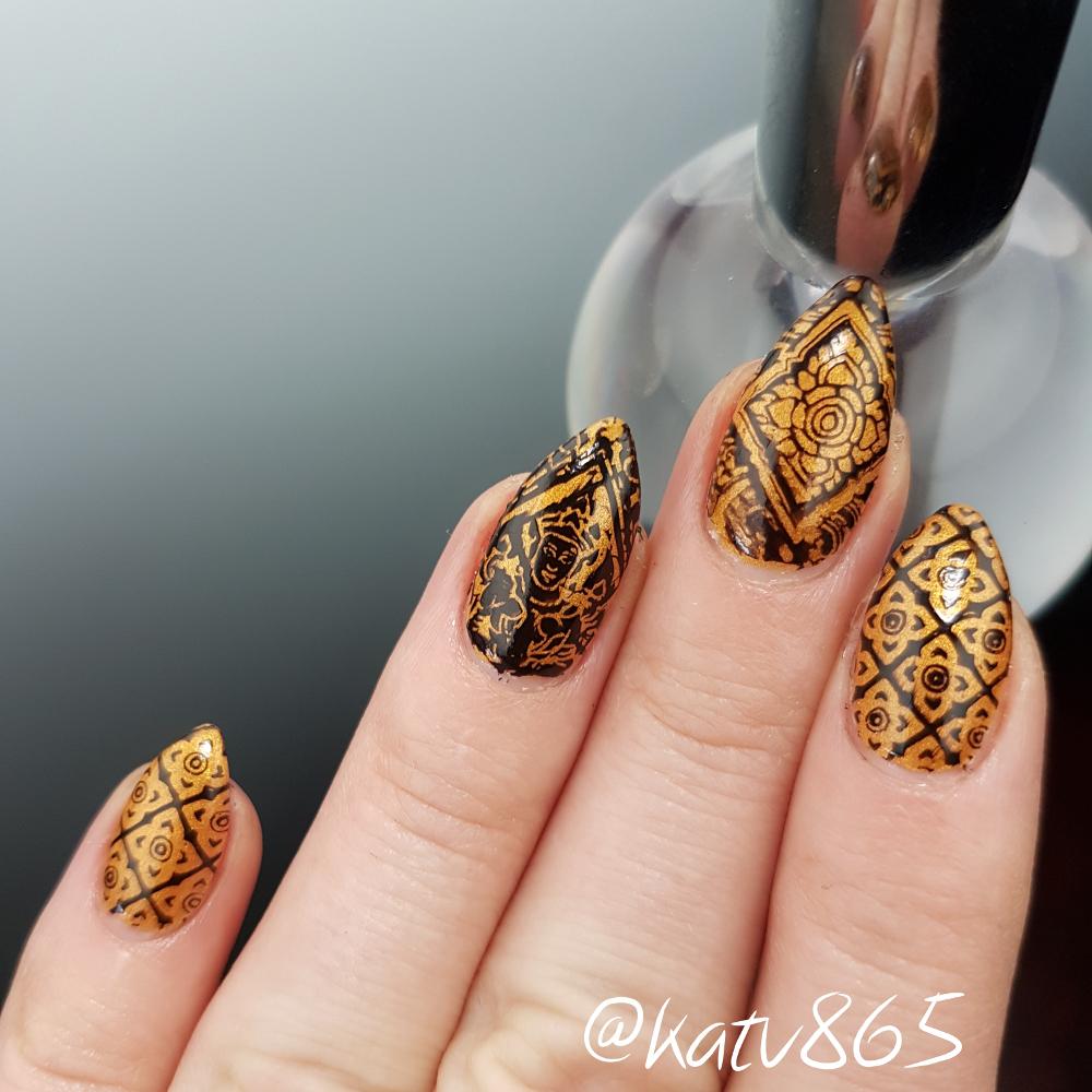 Priori Incantatem - custom handcrafted Harry Potter inspired gold ...