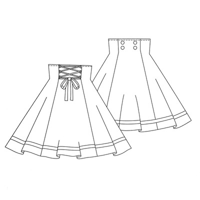 Otome no Sewing 10 · Lolita Sewing Patterns · Online Store Powered ...