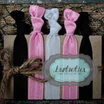 pretty n pink :  original {knotieties} 10 pack