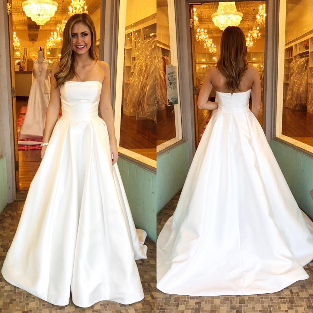 White Formal Prom Dresses 2018