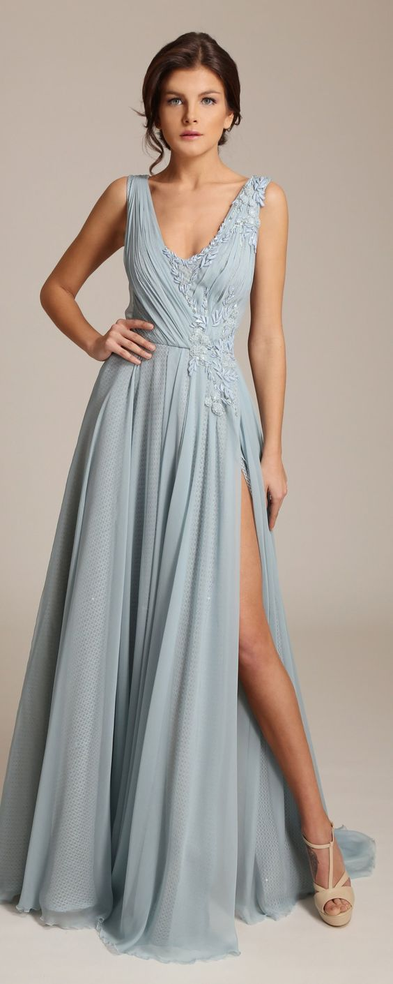 Simple Chiffon Bridesmaid Dresses, Cheap Bridesmaid Dress, Elegant ...