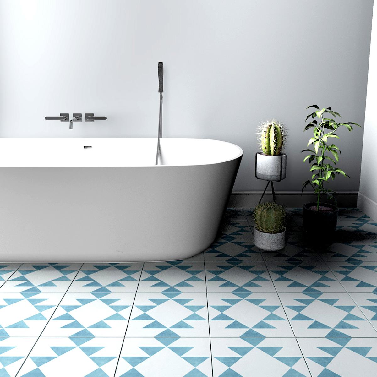 Tile Stickers, Antwerp, Suitable for Wall and Floor, Waterproof ...
