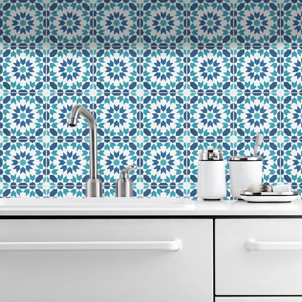 Tile Decals, Siena, Suitable for Wall and Floor, Waterproof, Tile ...
