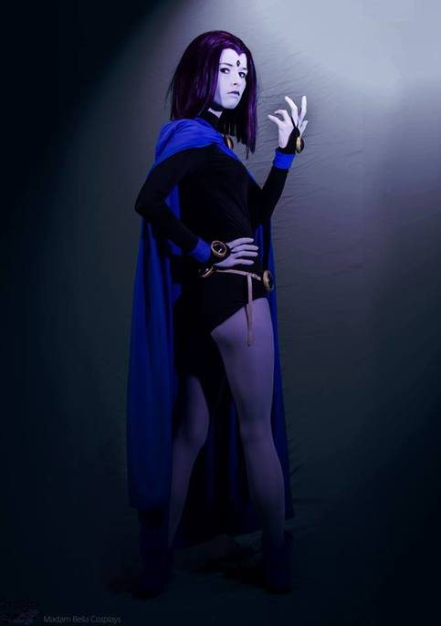 Raven Teen Titans Back Shot Cosplay Print On Storenvy