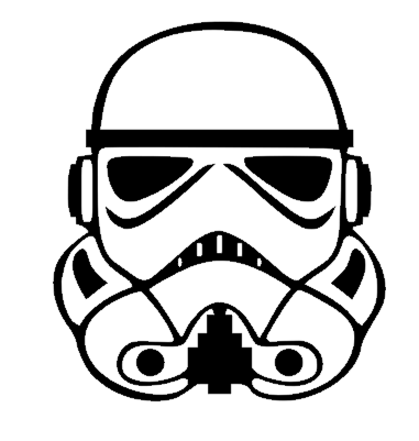 3 5x4 stormtrooper vinyl decal star wars