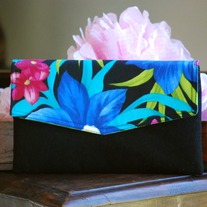 Envelope Clutch - Tropical - Mother's Day Special Was $36 Now $26