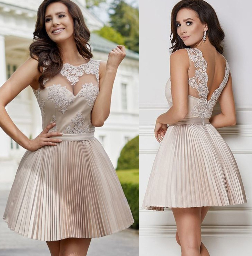 6dc5ec9617 Short Formal Dresses With Lace - Gomes Weine AG