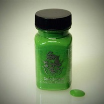 2oz SOLE JUNKIE CUSTOM ACRYLIC SNEAKER SHOE PAINT - GREEN