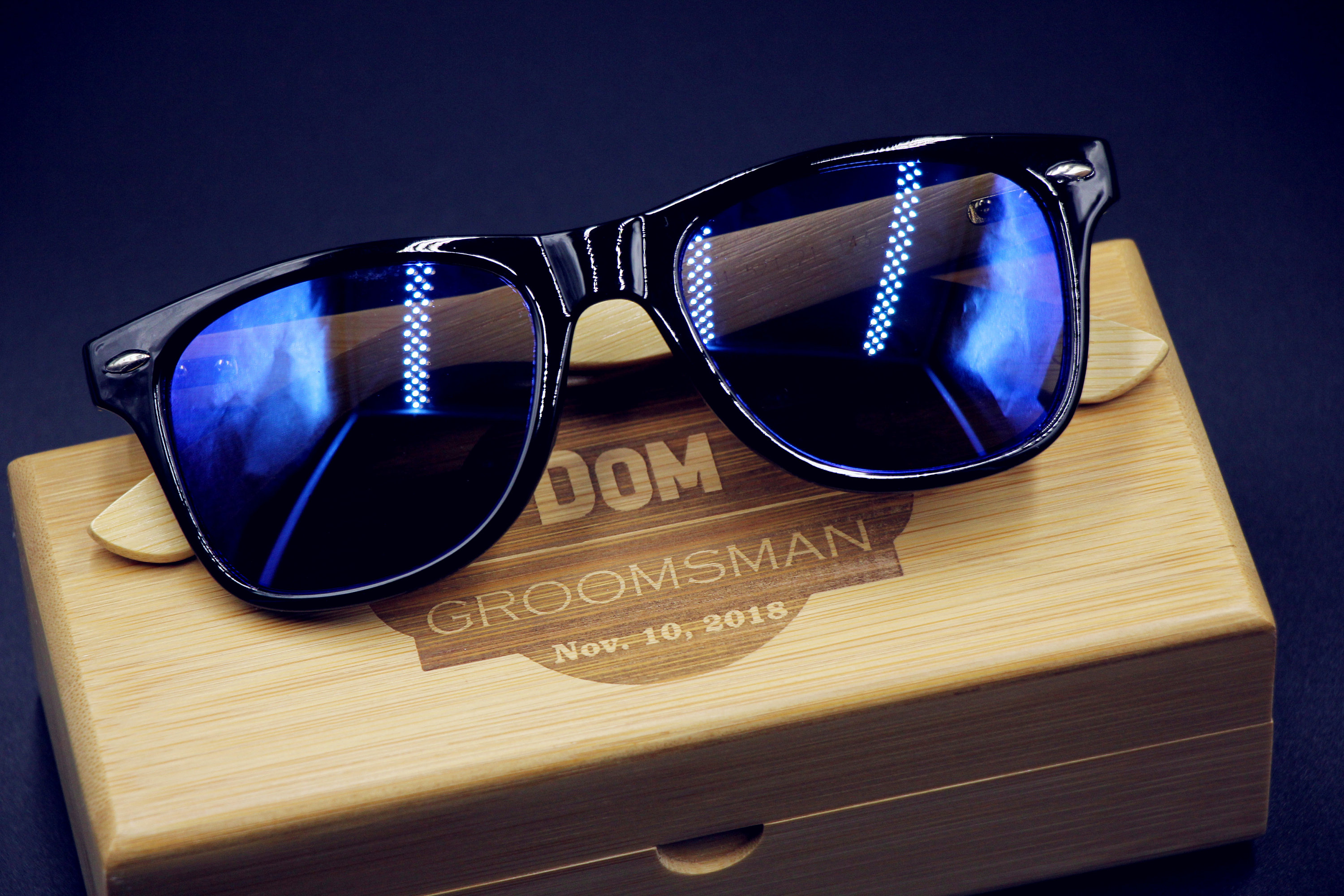 Groom Gift Groomsmen Gift Engraved Sunglasses Bachelor Party Gift Wedding Gift Personalized Sunglasses Custom Sunglasses Best Man Gift From