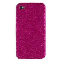 Hot Pink Sparkle Caze (iPhone 4/4s)