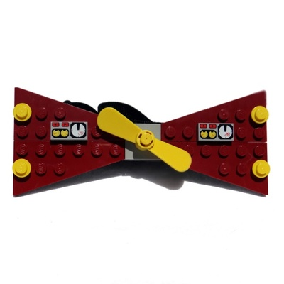 Lego® maroon speed racer bow ties