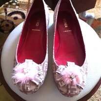 Vintage Fendi MONAGRAM SHOES Gorgeous.........!